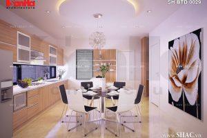 Nội thất phòng bếp ăn hiện đại đẹp