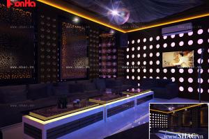 nội thất phòng karaoke hiện đại