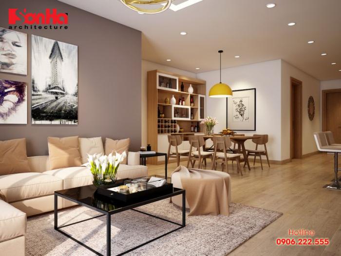 Các tiêu chí cơ bản trong thiết kế nội thất căn hộ chung cư
