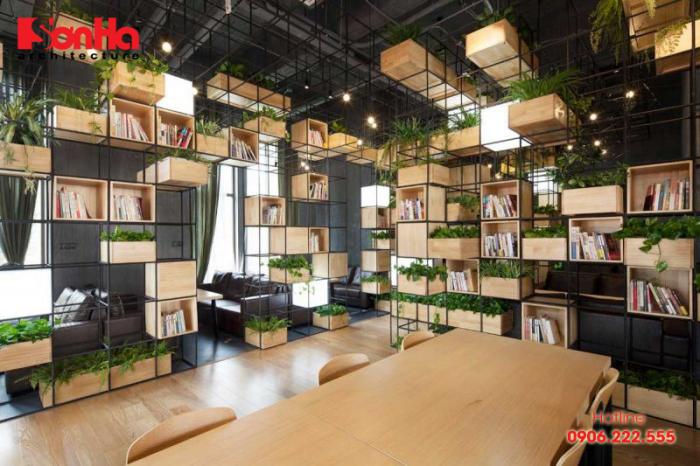 Thiết kế nội thất quán cafe phong cách trẻ trung, hiện đại và đẹp mắt