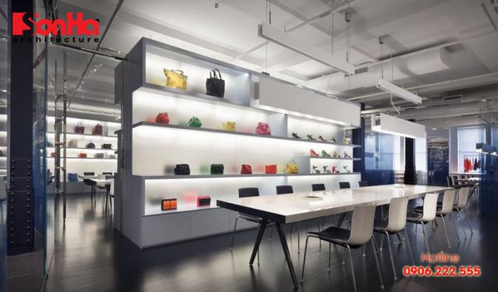 Thiết kế nội thất showroom là một phần không thể thiếu trong chiến lược kinh doanh
