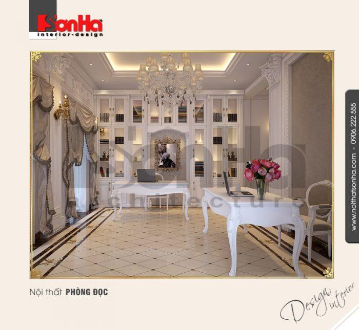 11.Thiết kế nội thất phòng đọc đẹp