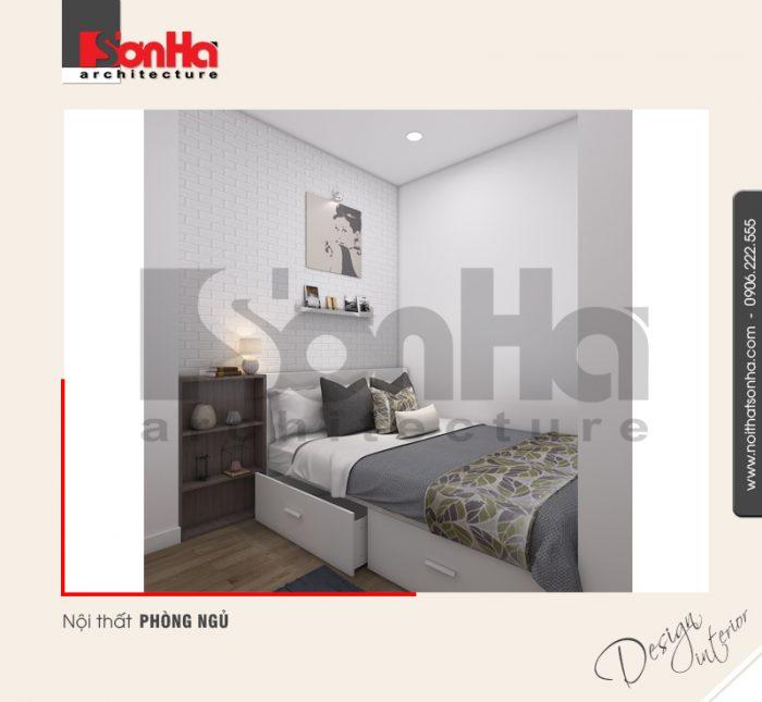 Cách lựa chọn gam màu tinh tế, hợp thời của KTS SHAC cho phòng ngủ căn hộ chung cư