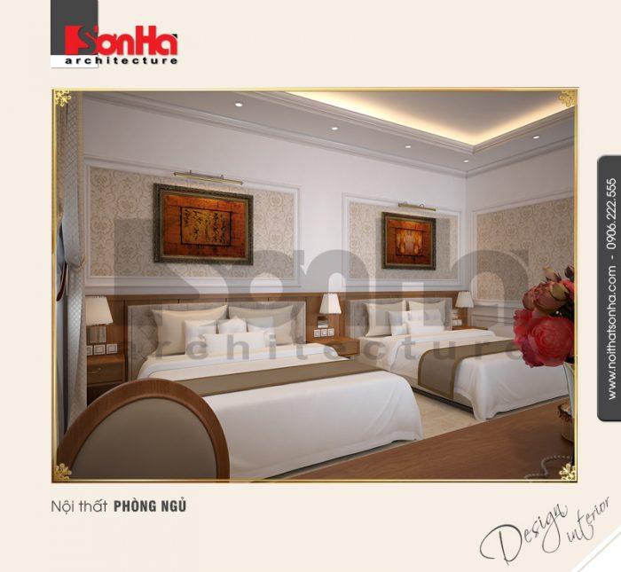 Không gian đẳng cấp của mẫu phòng ngủ khách sạn tiêu chuẩn 4 sao gạ gục mọi ánh nhìn