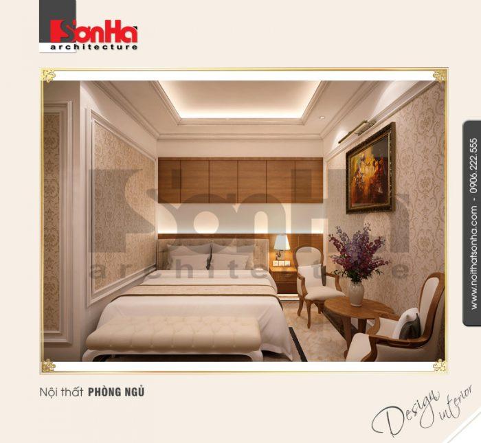 Mẫu thiết kế phòng ngủ cổ điển dành cho khách sạn hạng 4 sao tiện nghi và xa hoa đẳng cấp