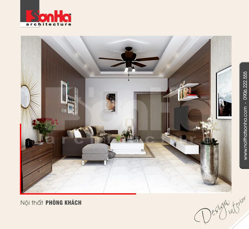 Thiết kế nội thất nhà đẹp và thi công thuận tiện với vật liệu gỗ công nghiệp MDF