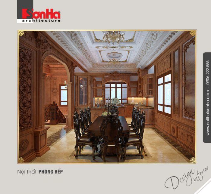 Kinh nghiệm chọn đồ gỗ nội thất cho không gian nội thất biệt thự cổ điển đẳng cấp