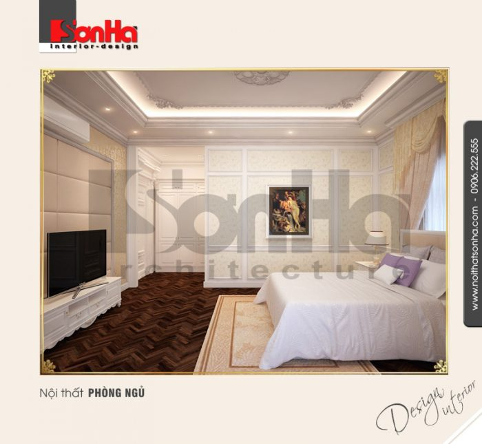 6.Mẫu nội thất phòng ngủ thiết kế đơn giản