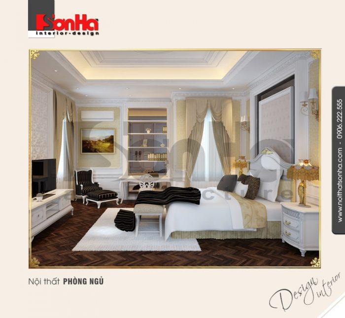 7.Thiết kế nội thất phòng ngủ bố trí hợp lý