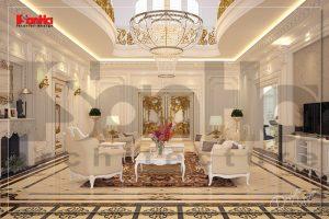 BIA Thiết kế nội thất biệt thự phố kiểu cổ điển đẹp tại Nha Trang NT BTP 0035