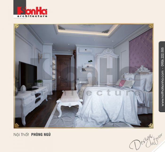 Ấn tượng với cách bố trí đồ nội thất gỗ trong không gian phòng ngủ diện tích phù hợp
