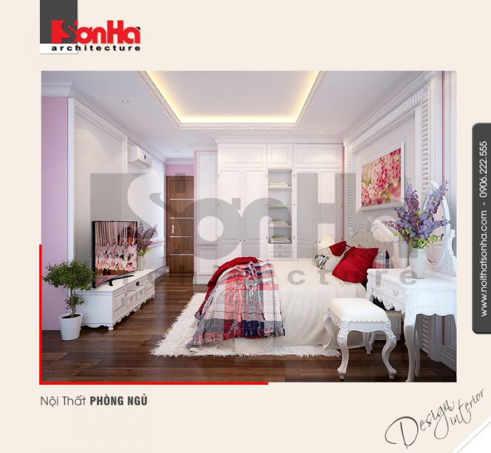 Góc thiết kế ấn tượng của mẫu phòng ngủ biệt thự phong cách hiện đại nổi bật nhất 2018