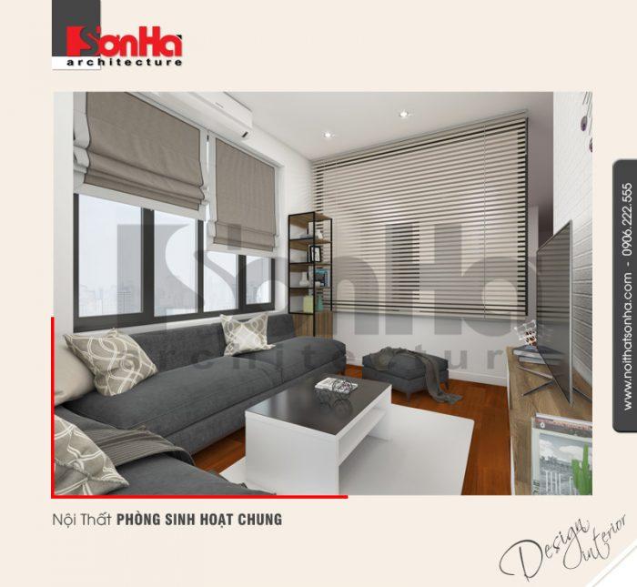 Giải pháp thiết kế nội thất phòng sinh hoạt chung của biệt thự phong cách hiện đại tinh tế