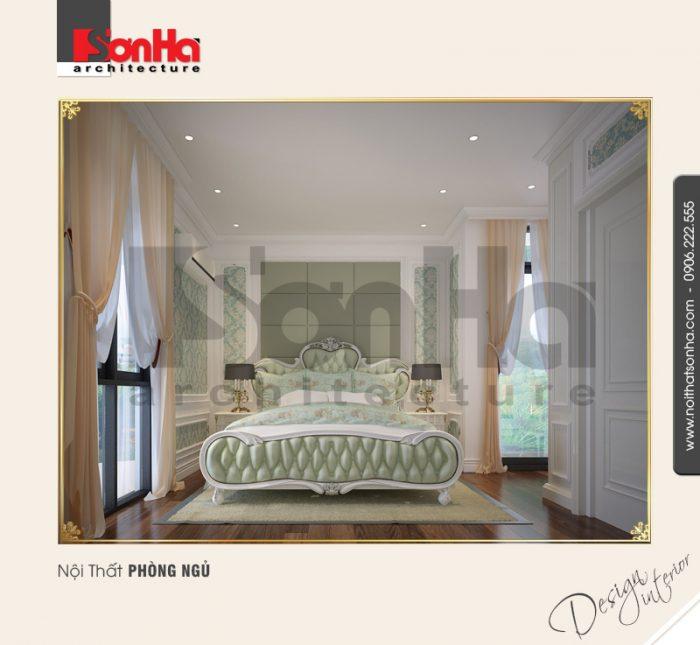 Mãn nhãn với không gian phòng ngủ cổ điển có thiết kế nội thất vương giả và hết sức lãng mạn