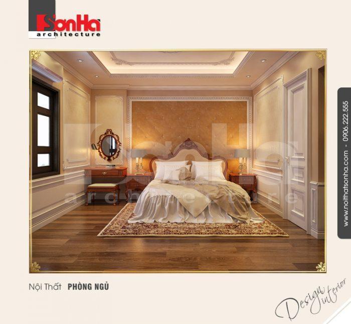 Thêm một tham khảo nổi bật cho xu hướng thiết kế phòng ngủ nhà phố kiểu cổ điển sang trọng