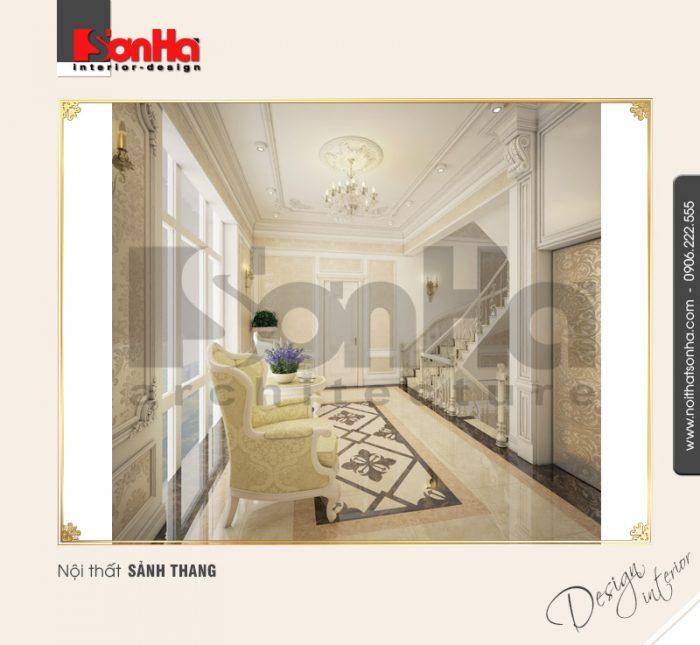 Lưu ý trong thiết kế và thi công nội thất biệt thự cổ điển được vận dụng linh hoạt