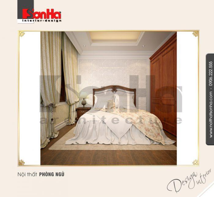 Phương án thiết kế phòng ngủ nhỏ xinh cho ăn hộ diện tích nhỏ phong cách cổ điển