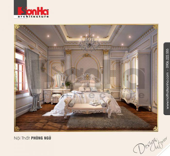 Sự kết hợp hoàn hảo giữa sơn tường và giấy dán tường trong thiết kế nội thất phòng ngủ