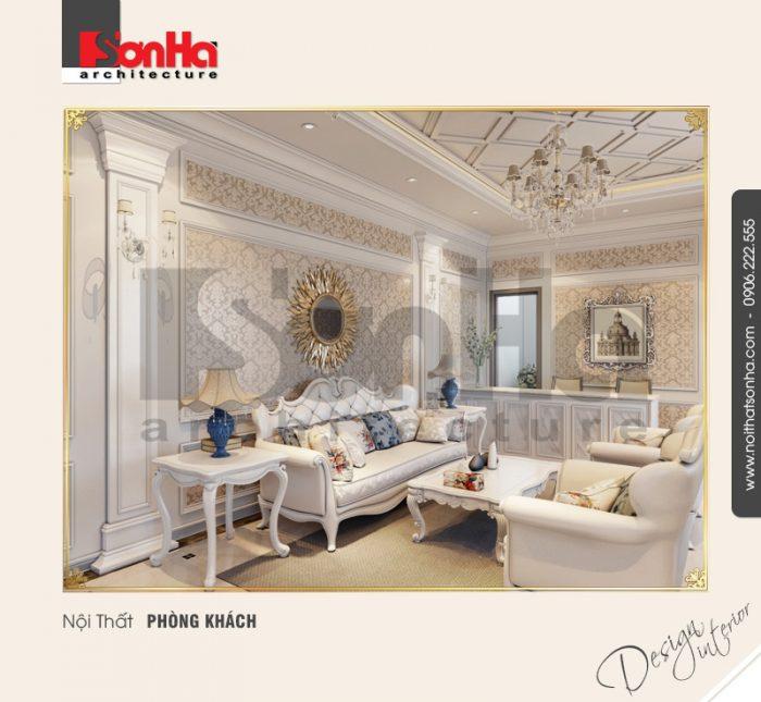 Thiết kế nội thất phòng khách cổ điển và cách chọn phào chỉ trang trí nội thất tốt nhất