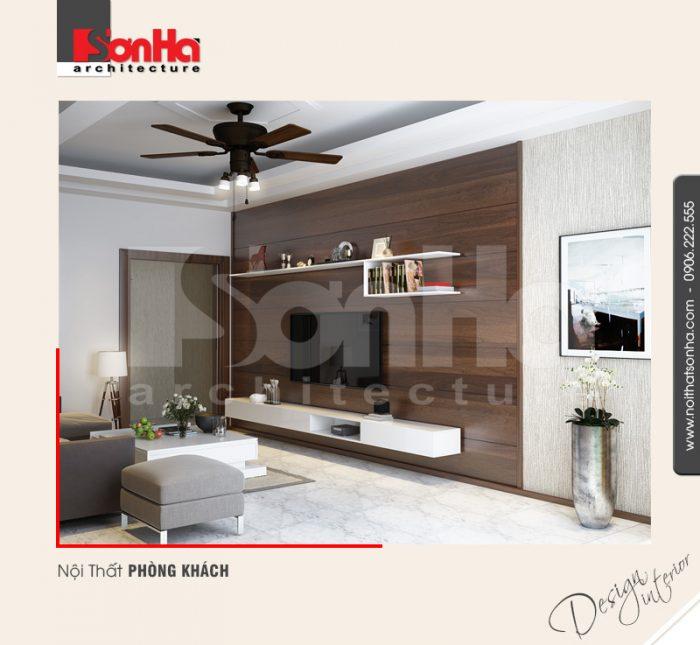 Mẫu nội thất phòng khách hiện đại đẹp dành cho chung cư cao cấp thương hiệu SHAC