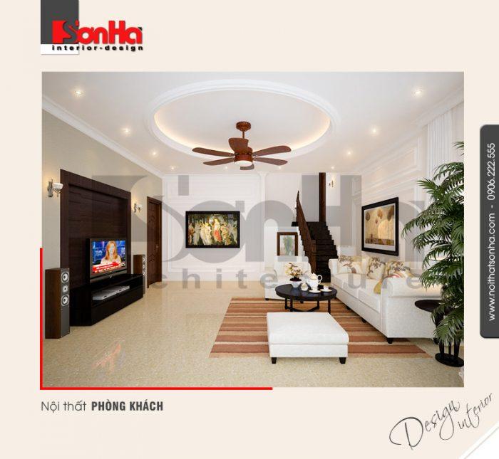 Thêm một ý tưởng tham khảo khả thi cho phương án thiết kế nội thất phòng khách đẹp 2018