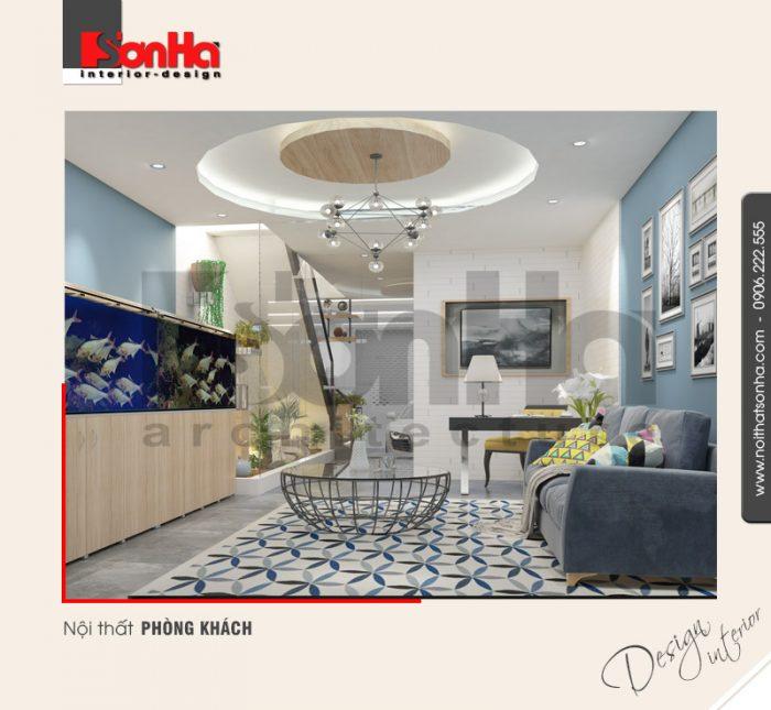 Thêm một cách bố trí nội thất phòng khách căn hộ hiện đại diện tích nhỏ để CĐT tham khảo