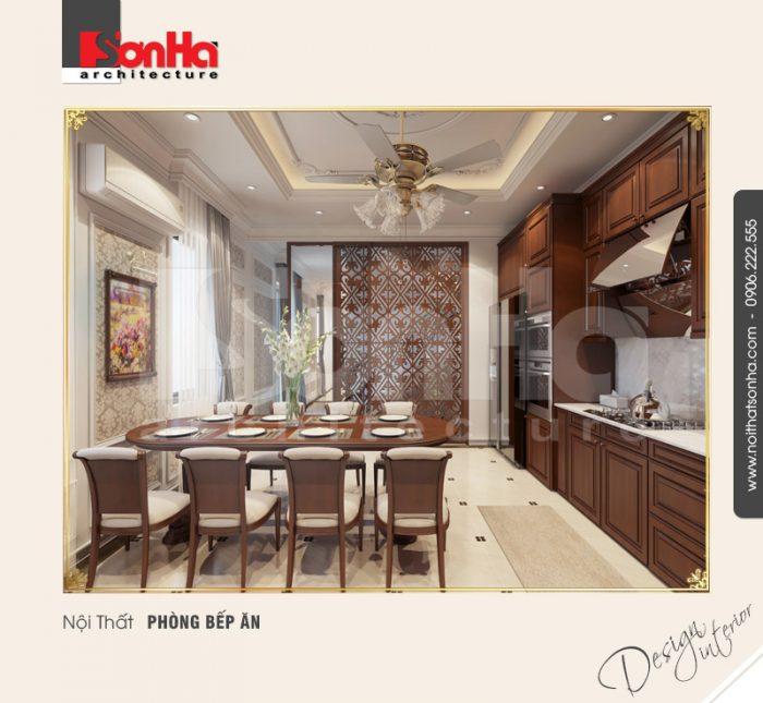 Mẫu thiết kế nội thất phòng bếp ăn chung cư và những lưu ý trong việc trang trí thi công