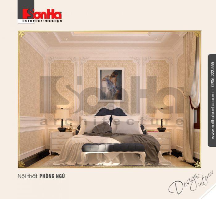 Thiết kế nội thất phòng ngủ nhà phố cổ điển được yêu thích và đánh giá cao bởi bố cục mạch lạc