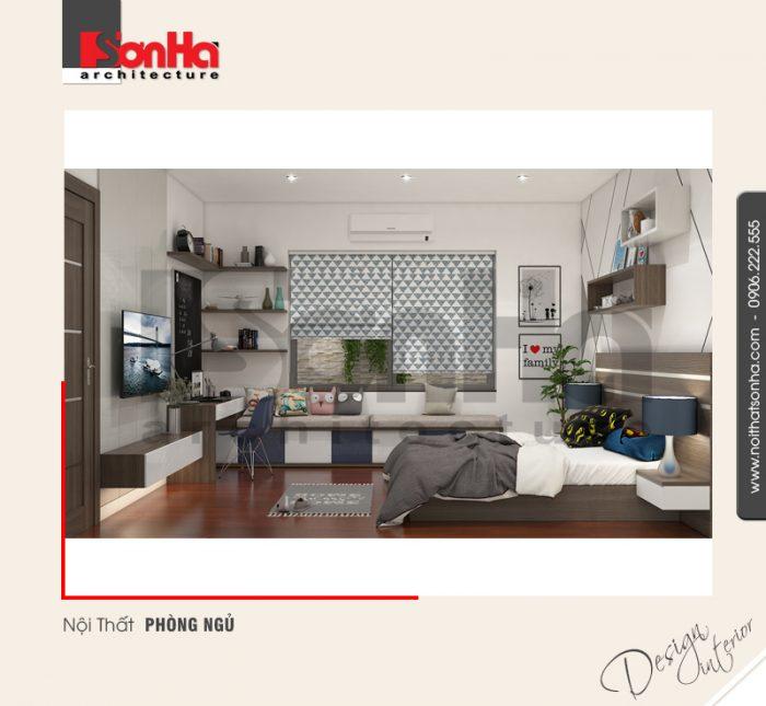 Xu hướng thiết kế nội thất phòng ngủ hiện đại được yêu thích với gam màu cá tính sâu sắc