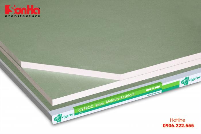 Một sản phẩm trần thạch cao được yêu thích sử dụng trong thi công nội thất