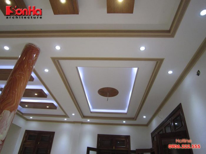 Ứng dụng của trần thạch cao trong thiết kế nội thất hiện đại