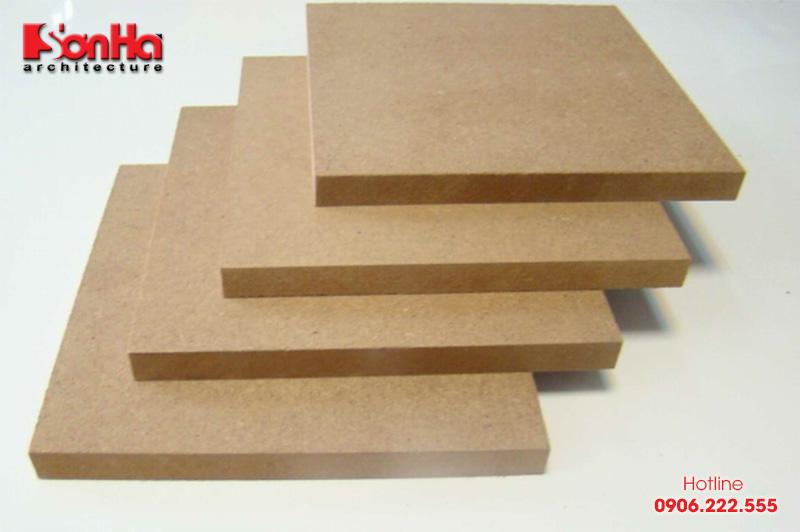 Ưu và nhược điểm của gỗ công nghiệp trong thiết kế và thi công nội thất