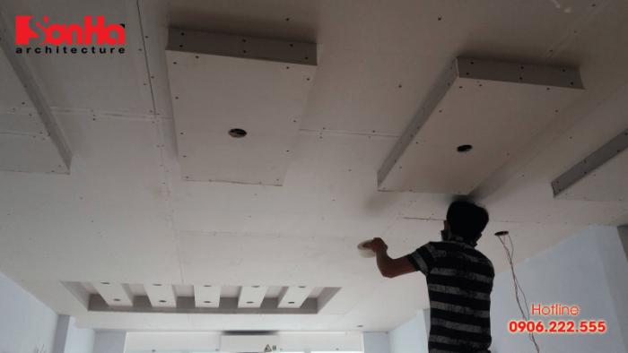 Việc thi công trần thạch cao có những tiêu chí nhất định để không gian nội thất đẹp