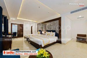 10 Không gian phòng ngủ deluxe family khách sạn hiện đại tại đà nẵng sh ks 0032