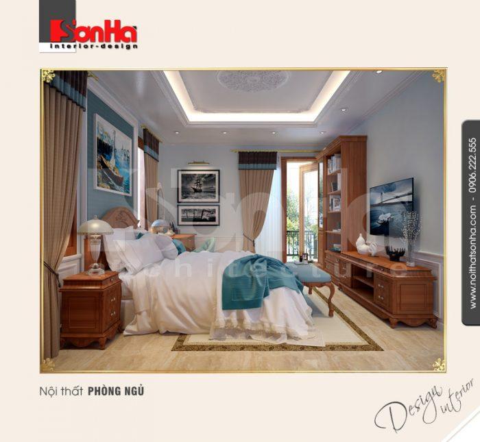 10.Mẫu nội thất phòng ngủ cổ điển tại quảng bình NT BTP 0099