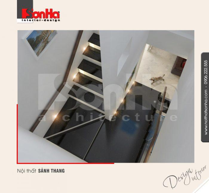 10.Mẫu nội thất sảnh thang hiện đại tại hải phòng NT NOD 0042