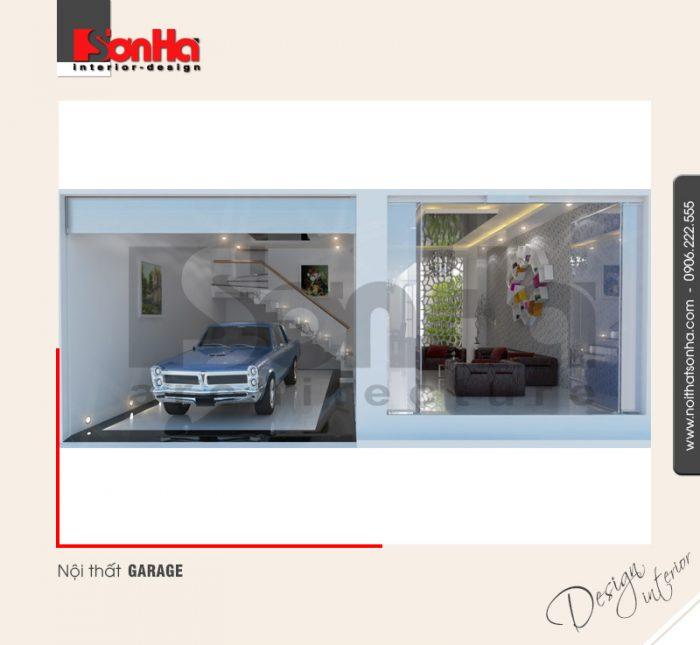 11.Thiết kế nội thất garage hiện đại tại hải phòng NT NOD 0042