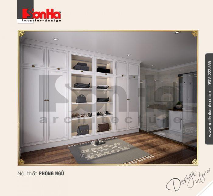Mẫu Thiết kế nội thất phòng ngủ 2 biệt thự Pháp tại khu đô thị Vinhome Imperia Hải Phòng