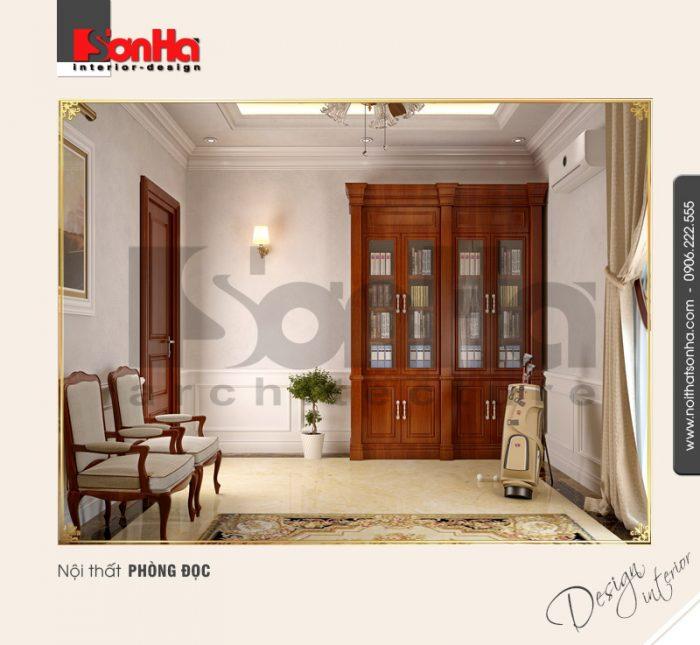 Mẫu nội thất phòng đọc cổ điển tại quảng bình NT BTP 0099