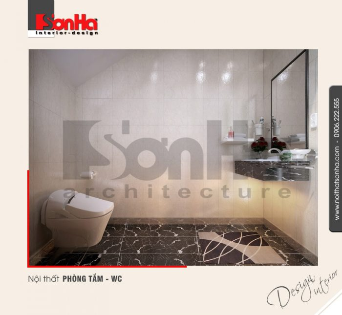 13.Thiết kế nội thất phòng tắm wc hiện đại tại hải phòng NT NOD 0042