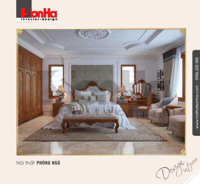 14.Mẫu nội thất phòng ngủ cổ điển tại quảng bình NT BTP 0099