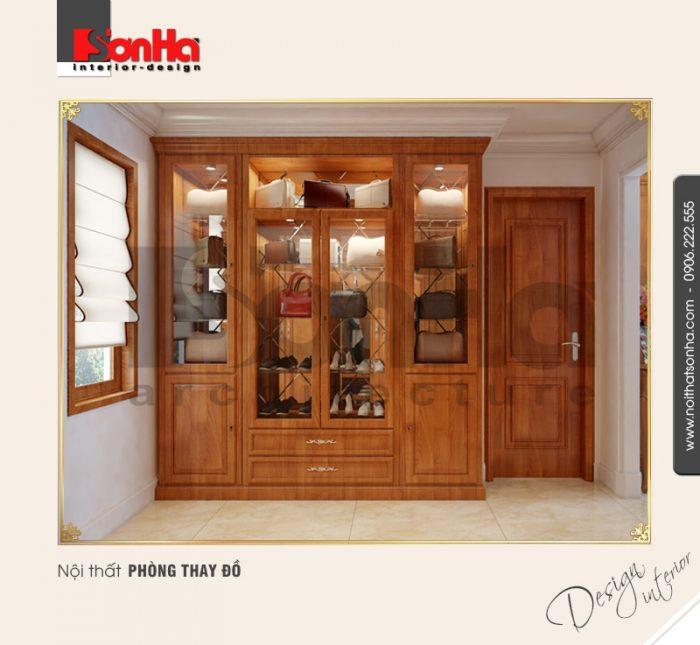 Thiết kế nội thất phòng thay đồ cổ điển tại quảng bình NT BTP 0099