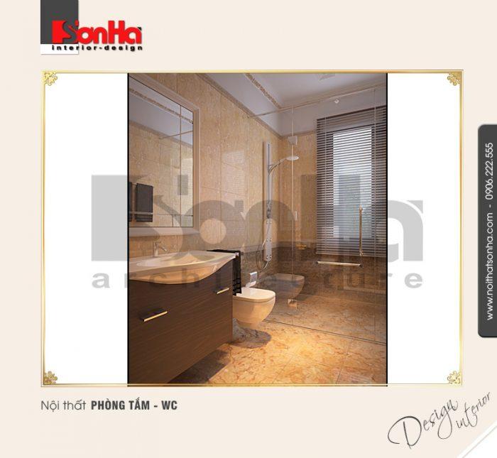 Thiết kế nội thất phòng tắm wc cổ điển tại quảng bình NT BTD 0008