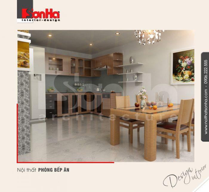3.Thiết kế nội thất phòng bếp ăn hiện đại tại hải phòng NT NOD 0042