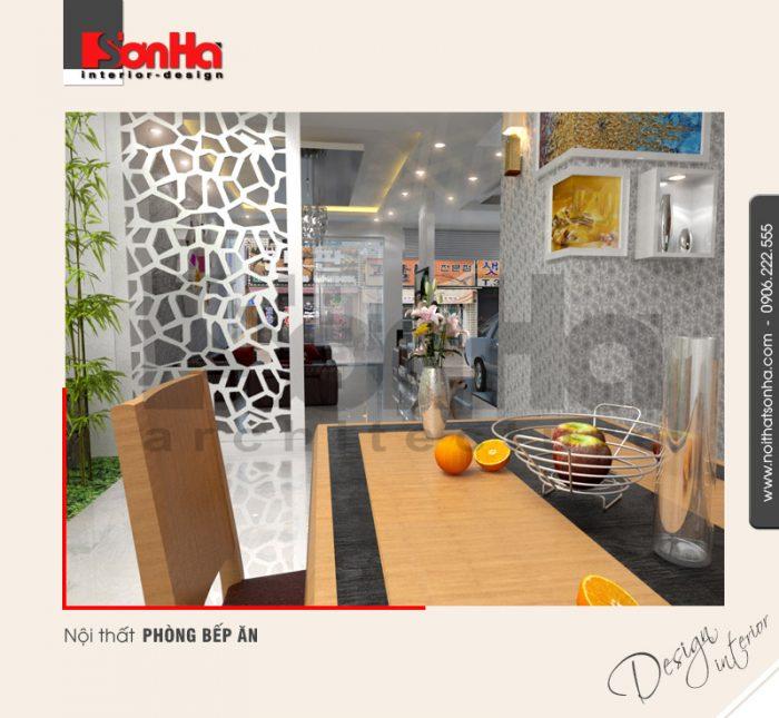 4.Mẫu nội thất phòng bếp ăn hiện đại tại hải phòng NT NOD 0042