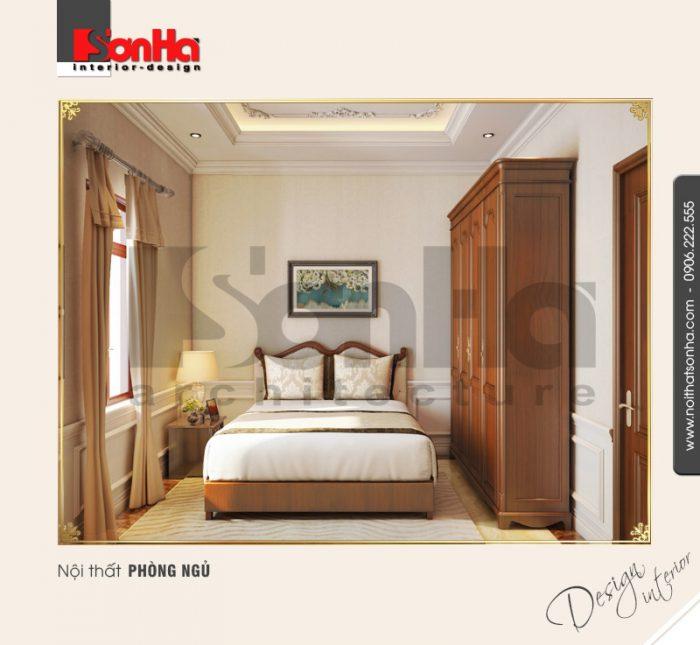 Thiết kế nội thất phòng ngủ cổ điển tại quảng bình NT BTP 0099