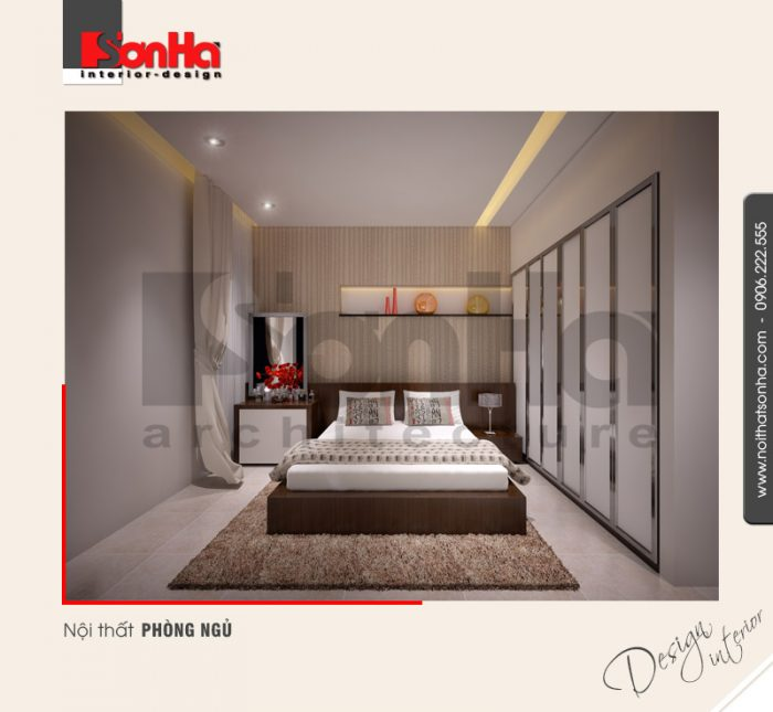 5.Thiết kế nội thất phòng ngủ hiện đại tại hải phòng NT NOD 0042