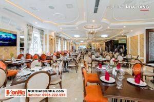 6 Không gian nội thất phòng ăn khách sạn hiện đại tại đà nẵng sh ks 0032