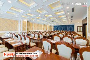 7 Ảnh thực tế nội thất phòng họp khách sạn 4 sao tại đà nẵng sh ks 0032