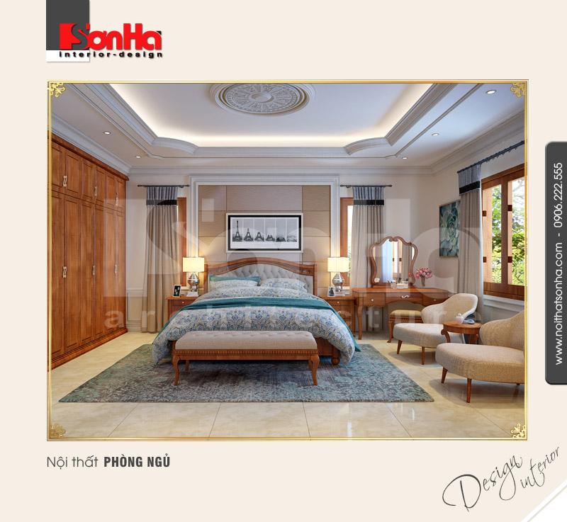 7.Thiết kế nội thất phòng ngủ cổ điển tại quảng bình NT BTP 0099